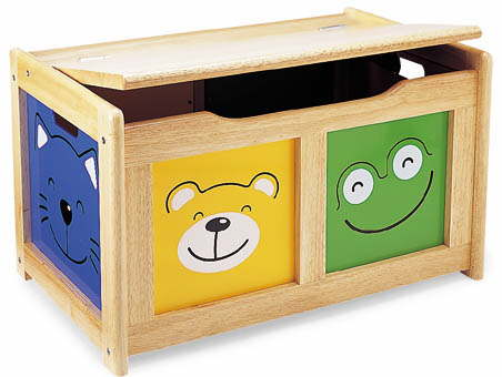 wooden toy boxes, personalised kids furniture, picture proud toy ...
