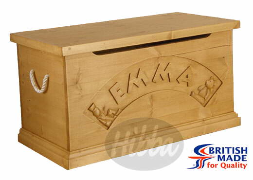 childrens toy box plans
