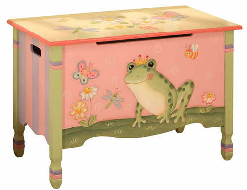Children S Wooden Toy Boxes Personalised Kids Furniture