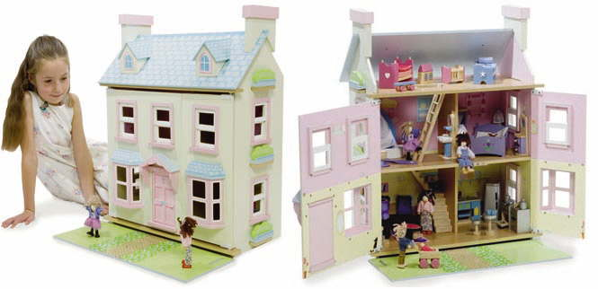 Dolls Houses Made From Wood Mayberry Manor Lavender